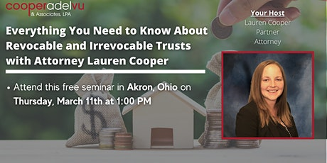 Everything You Need to Know About Trusts with Attorney Lauren Cooper tickets