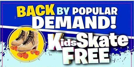 Kids Skate FREE with this Ticket - Sunday, March 14th, 12:00-3:00pm tickets
