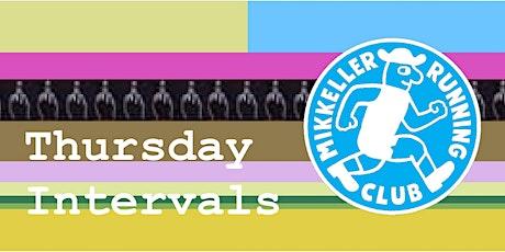 Mikkeller Running Club  Copenhagen - Interval Thursday tickets