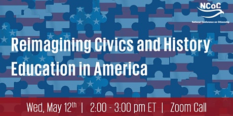 Reimagining Civics and History Education in America tickets