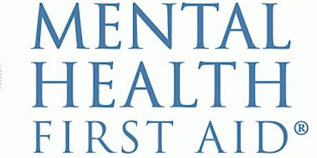 Youth Mental Health First Aid - Virtual tickets