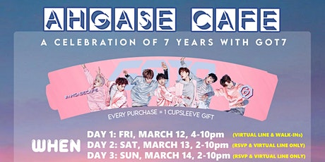 AHGASE CAFE - DAY 3 (Sunday) tickets