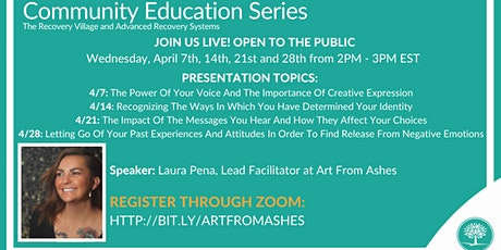 Community Education Series with Art From Ashes tickets