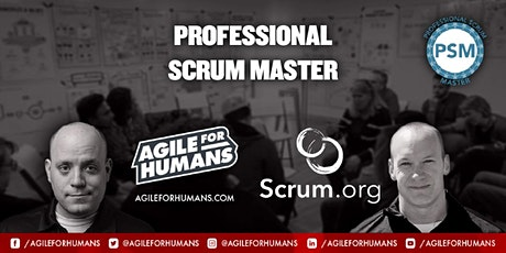 Professional Scrum Master (PSM) ONLINE Certifcation Class - PSM I tickets