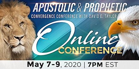 Online Apostolic & Prophetic Convergence tickets