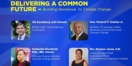 Delivering a Common Future - Building Resilience to Climate Change tickets