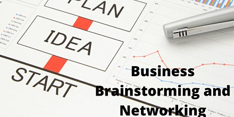 Copy of Business, Brainstorming and Networking tickets