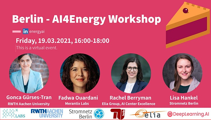 Pie & AI: Berlin - AI4Energy Workshop image