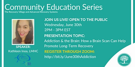 Community Education Series: Addiction and the Brain tickets