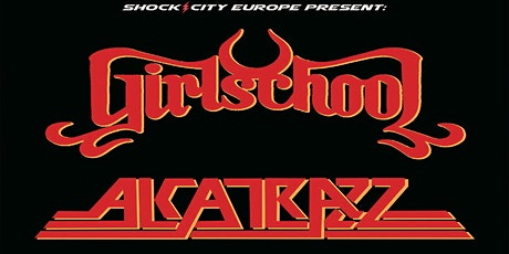 Girlschool and Alcatrazz live Eleven Stoke tickets