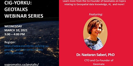 CIG-YU: GeoTalks Webinar Series tickets