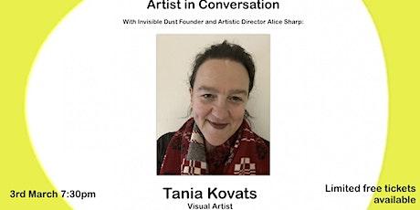 Artist in conversation: Tania Kovats tickets