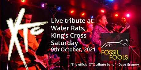 XTC Tribute Night with Fossil Fools at the Water Rats tickets
