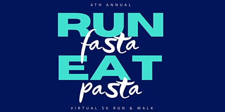 Run Fasta Eat Pasta Virtual 5K Walk/Run tickets