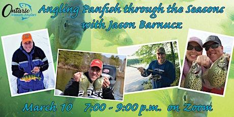 Angling Panfish through the Seasons with Jason Barnucz tickets