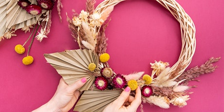 Dried Floral Spring Wreath tickets