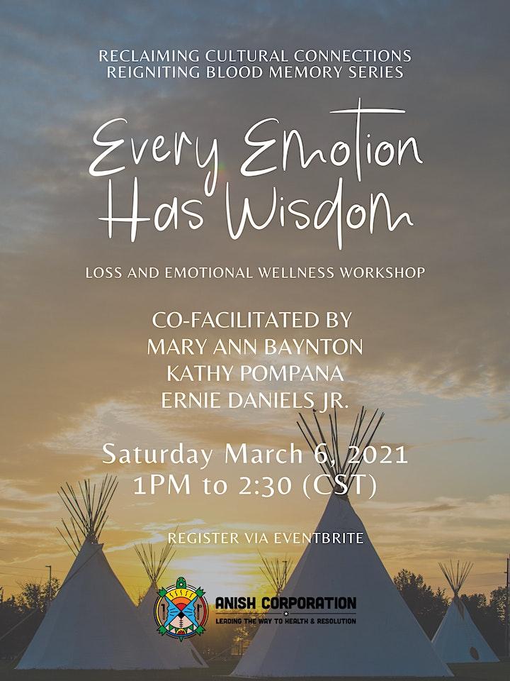 Every Emotion Has Wisdom: Loss and Emotional Wellness Workshop image