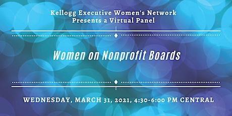 Women on Nonprofit Boards tickets