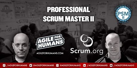 Professional Advanced Scrum Master (PSM II) ONLINE Certification Course tickets