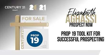 CENTURY 21 Award Presents: Elizabeth Aghassi of Prospect Now! ingressos