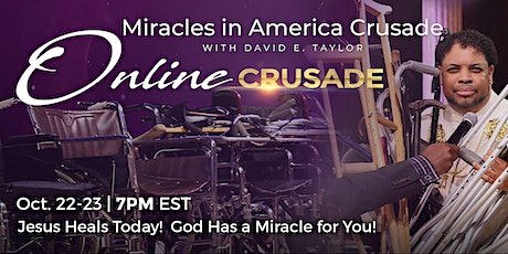 Online Miracle Crusade tickets