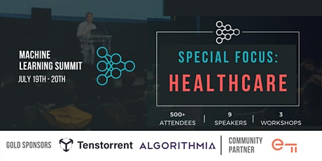 Machine Learning in Healthcare Summit entradas