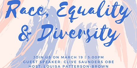 Race, Equality & Diversity with Clive Saunders OBE tickets