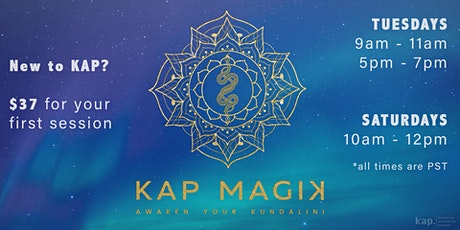 Kundalini Activation Process (KAP) Online Session with Cris & Madalina tickets