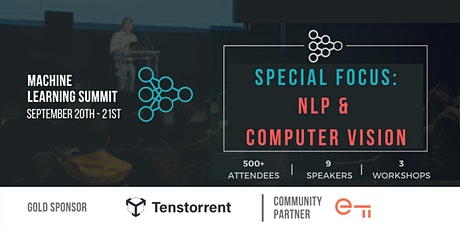 Machine Learning in NLP & Computer Vision Summit tickets