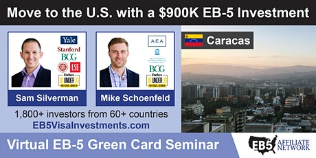 U.S. Green Card Virtual Seminar – Caracas, Venezuela tickets