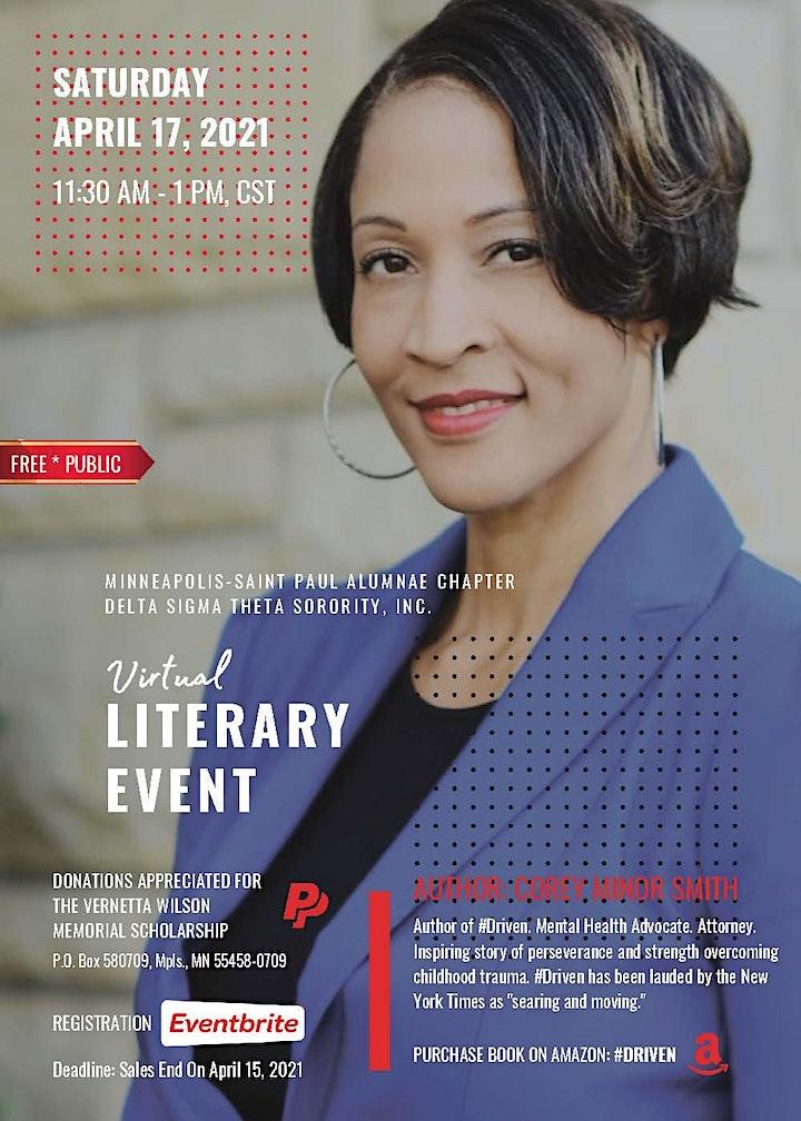 Virtual Literary Event image