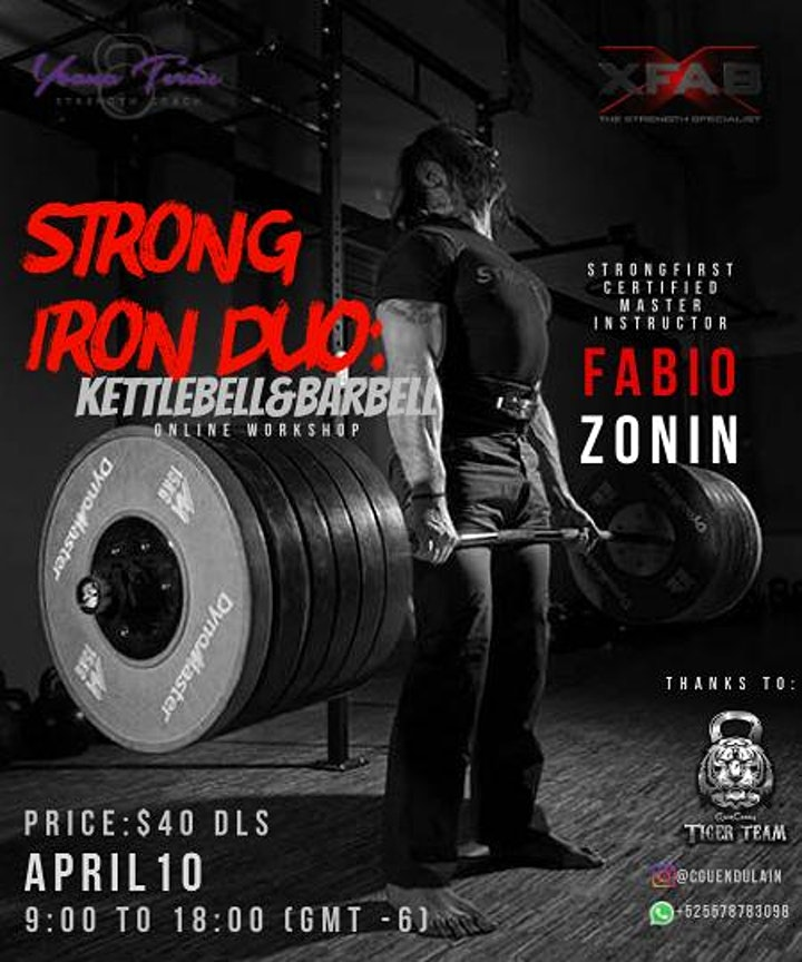 Strong Iron Duo: Kettlebell & Barbell image