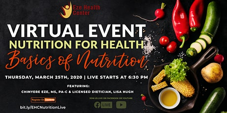 Nutrition for Health: Basics of Nutrition tickets