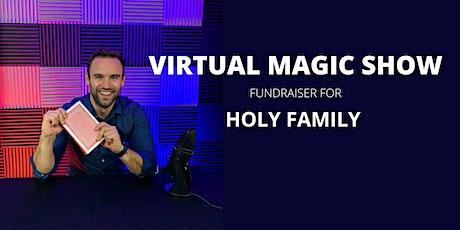 Andrew Kinakin - VIRTUAL MAGIC SHOW | Fundraiser for Holy Family tickets