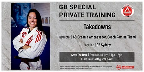 GB Special Private Training At GB Sydney tickets