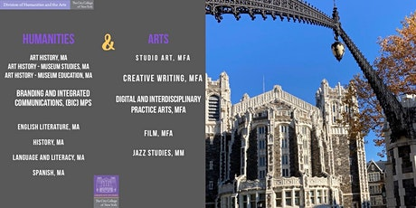 Info Session - CCNY Graduate Studies in Humanities and the Arts tickets