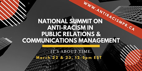National Summit on Anti-Racism in PR & Communications Management tickets