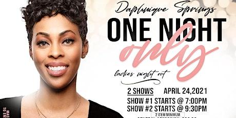 DAPHNIQUE SPRINGS LIVE tickets
