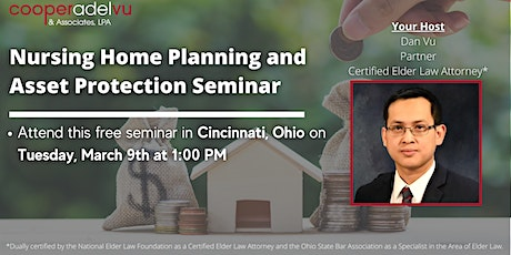 Nursing Home Planning & Asset Protection Seminar tickets