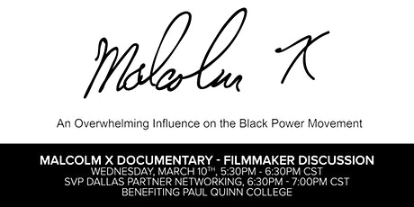 Malcolm X Documentary - Filmmaker Discussion tickets