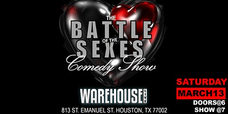 BATTLE OF THE SEXES COMEDY SHOW tickets