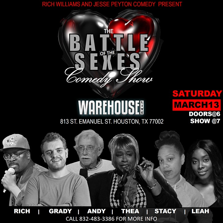 BATTLE OF THE SEXES COMEDY SHOW image