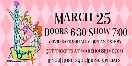 SHOWGIRL BINGO - with HOSTS NOIR LILLET & PIPER DAILY tickets
