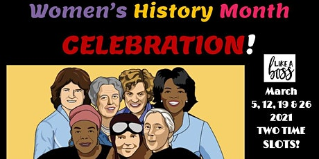 Women's History Month Celebration Workshop Series for Kids and Teens tickets