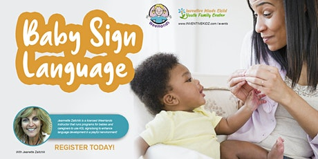 Baby Sign Language Class for Infants & Toddlers tickets
