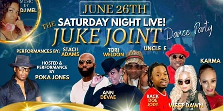 The Saturday Night Live JUKE JOINT Dance Party tickets