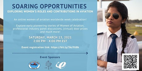 Soaring Opportunities: Celebrating Women's Contributions in Aviation tickets