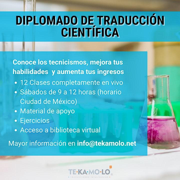 Imagen de Diplomado de Traducción Científica
