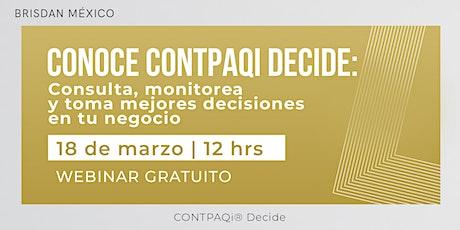 CONTPAQi® Decide boletos