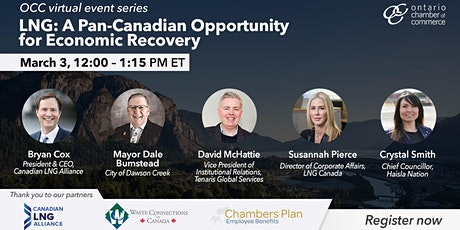 LNG: A Pan-Canadian Opportunity for Economic Recovery tickets